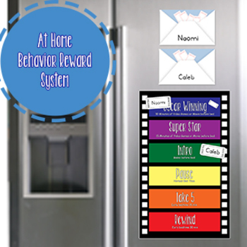 Take Me To The Movies At Home Behavior Reward System