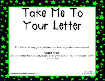 Take Me to Letter Center