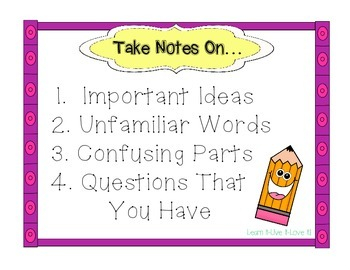Take Notes On-Visual for Students
