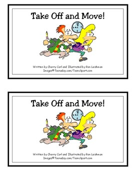 Take Off and Move! Reproducible Guided Reader