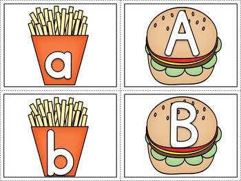Take Out Beginning Sound Match and Letter Match