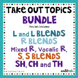 Take Out Topics for Articulation Carryover - BUNDLE