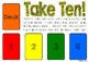 Take Ten addition card game