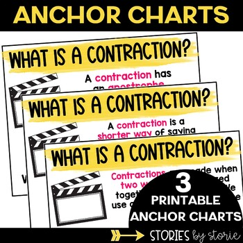 Contractions Games, Worksheets, and Activities