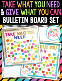 Take What You Need Bulletin Board Set