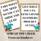 Take What You Need, Give What You Can Bulletin Board Set