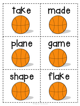Take Your Best Shot! {Long Vowel Game}