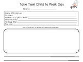 Take Your Child To Work Day - Student Report