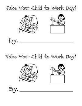 Take Your Child to Work Day - Journal