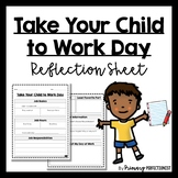 Take Your Child to Work Day Reflection Sheet