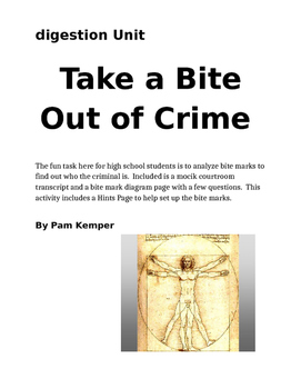 Take a Bite Out of Crime Lab