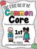 Take a Bite out of the Common Core {Mini Lessons for Reading Literature 1st Gr}