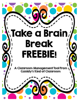 Take a Brain Break