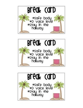 photo about Break Cards for Students Printable called Just take a Split Playing cards