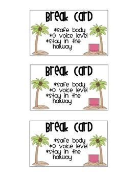 Take a Break Cards