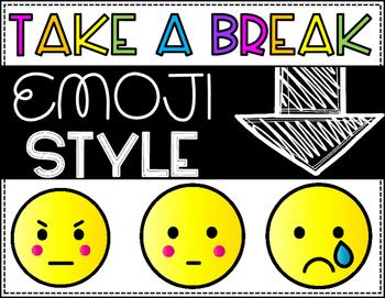 Take  a Break Emoji Style