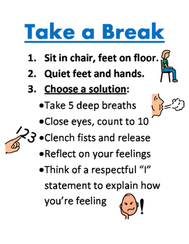 Take a Break Poster