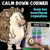 Take a Break Spot or Calm Down Corner Hedgehog Theme