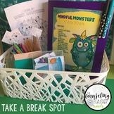 Take a Break Station Behavior Management Monsters