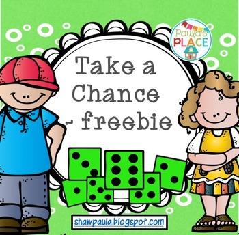 Take a Chance - Freebie