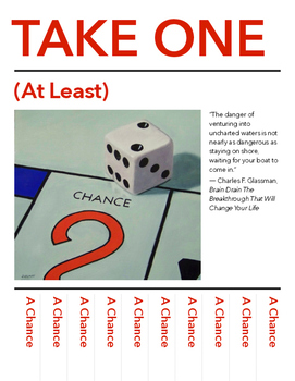Take a Chance (poster for wall)