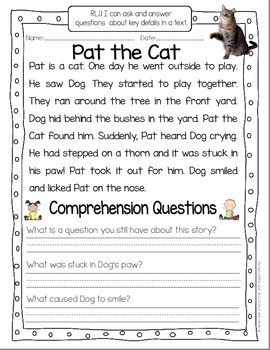 Take a Closer Look: Close Reading for First Grade (FREEBIE)