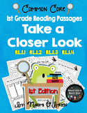 Take a Closer Look: Close Reading for First Grade (Common Core) 1st Edition