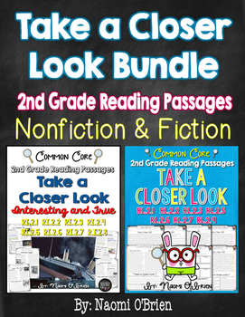 Take a Closer Look: Fiction and Nonfiction Bundle for 2nd Grade