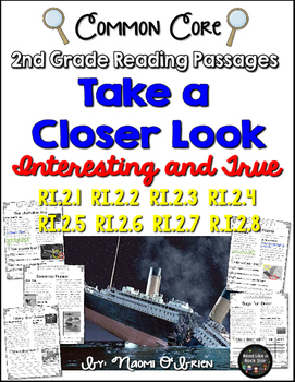 Take a Closer Look: Nonfiction Close Reading for 2nd Grade