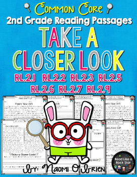 Take a Closer Look: Fiction Close Reading for 2nd Grade