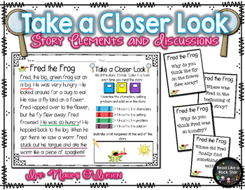 Take a Closer Look: Story Elements and Discussions