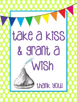 Take a Kiss & Grant a Wish