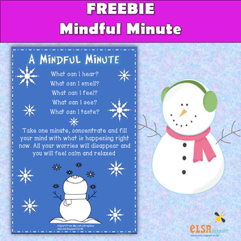 Take a Mindful Minute - Relax and Calm