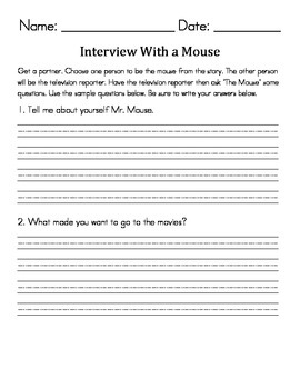 Take a Mouse to the Movies interview