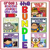 Take a Reading Journey First Grade Unit 1 NO PREP Printable BUNDLE Lesson 1-5