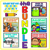 Take a Reading Journey Kindergarten Unit 4 NO PREP Printable BUNDLE Lesson 16-20