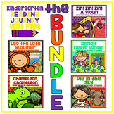 Take a Reading Journey Kindergarten Unit 5 NO PREP Printable BUNDLE Lesson 21-25
