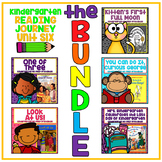 Take a Reading Journey Kindergarten Unit 6 NO PREP Printable BUNDLE Lesson 26-30