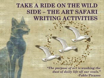 Think and Write Creatively with Art - Take a Ride on the Wild Side