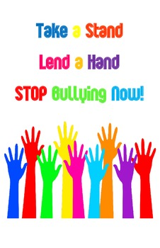 Take a Stand Lend a Hand Poster