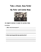 Take a Stand, Rosa Parks! by Peter and Connie Roop Comprehension Packet