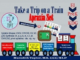 Take a Trip on a Train: Apraxia Set for Early Sounds and S