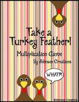 Take a Turkey Feather Multiplication Game