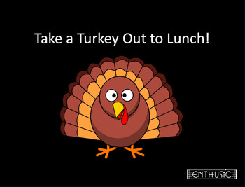 Take a Turkey Out to Lunch LYRIC SHEET