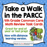 4th Grade Common Core Math PARCC and AIR Test Prep Task Cards