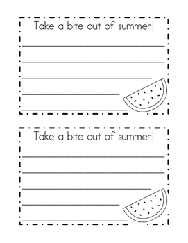 Take a bite out of summer!
