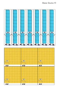 Take and Trade Place Value Board Game