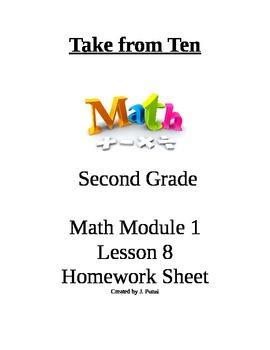 Take from Ten Second Grade Math Module 1 Homework