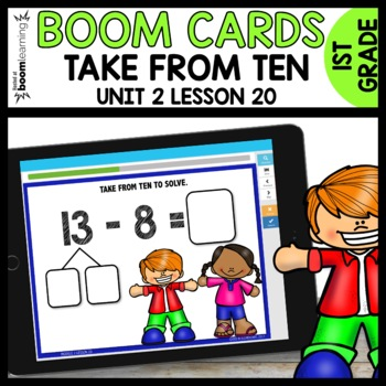 Take from Ten Strategy (7, 8, 9) BOOM CARDS [Module 2 Lesson 20]