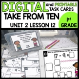 Take from Ten Strategy DIGITAL TASK CARDS   PRINTABLE TASK CARDS